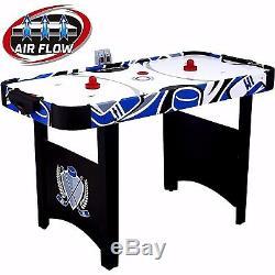 Home Ice Hockey LED Scorrer 48'' Air Powered Hockey Table + Acc Kids Home Sport
