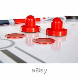 Home Sport Foldable 48'' Air Powered Hockey Table Space-Saving Design