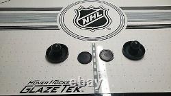 Hover Hockey NHL branded 80 air hockey table used