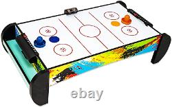 Kids Air Hockey Table Electronic Air Hockey Table for Kids and Adults with and
