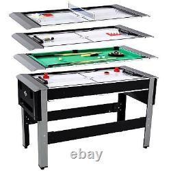 Lancaster 54 4-in-1 Multi-game Combo Arcade Game Table (Open Box)