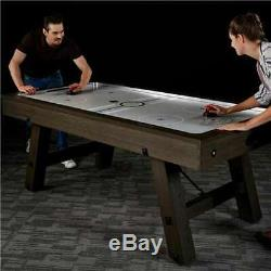 Lancaster 84 Inch Air Powered Air Hockey Table with Game Accessories (Used)