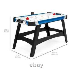 Large 54in Air Hockey Table Game Room Office LED Score Boar with2 Pucks 2 Pushers