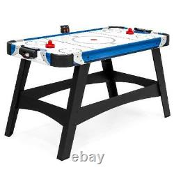 Large Air Hockey Table 54in Game Room Office with2 Pucks 2 Pushers LED Score Board