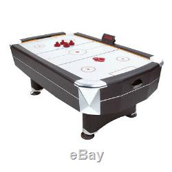 Leisure Vortex Puck Action 7ft Electronic Air Hockey Table 2-4 Players Pool Set