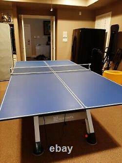 MD SPORTS 89 Air Hockey Table with JOOLA Tetra full size Ping Pong top