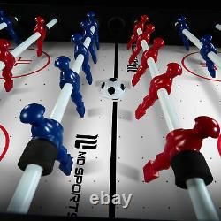 MD Sports 48 12 In 1 Combo Game Table, Air Hockey, Knock Hockey, Foosball, Bask