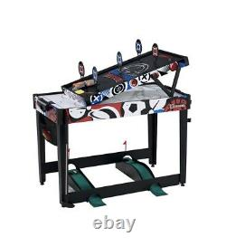 MD Sports 48 7 in 1 Combo Game Table Air Hockey, Bag Toss, Darts, Mini Golf