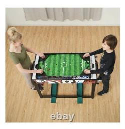 MD Sports 48 7 in 1 Combo Table Air Hockey, Basketball, Bag Toss, Darts, Soccer