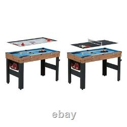 MD Sports 84 Air Hockey Table with Electronic Score & LED Lights