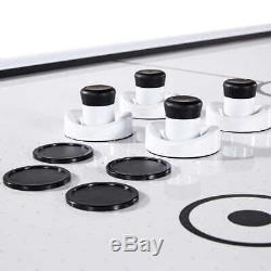 Medal Sports 89 Air Hockey Table, LED Electronic Scorers with Sound Effects