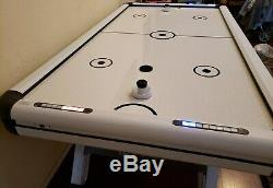 Medal Sports 89 Air Hockey Table with LED Electronic Scorers and Sound Effects