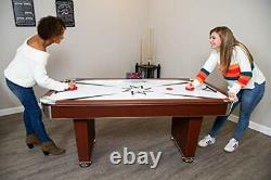 Midtown 6' Air Hockey Family Game Table with Electronic Scoring, High-Powered B