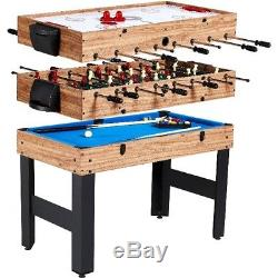 Mini Pool Table Air Hockey Table For Kids Foosball 48 Inch Teen Games Table