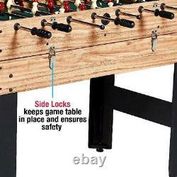 Multi Game Table Combo 3 In 1 Pool Billiards Air Hockey Foosball Soccer Ball NEW