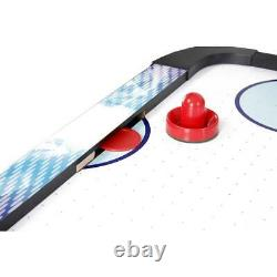 NEW BlueWave NG1009H Face-Off 5 Ft. Air Hockey Table With Electronic Scoring