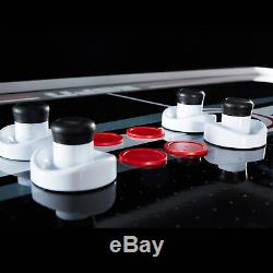 NEW ESPN Premium 84 Inch Air Powered Hockey Table with LED Touch Screen Scorer