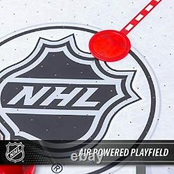 NHL 48 Rush Air Hockey Table with Automatic LED Electronic Scoring perfect
