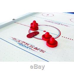 New American Legend HT281 Enforcer 7-Foot Table Air Hockey Game Table with 4 Pucks