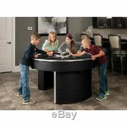Orbit Eliminator Black 4-player Air Hockey Game Table Black