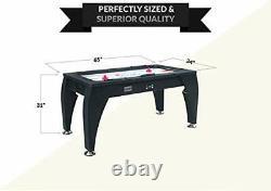 PUCK Sphynx 5-Foot Air Hockey Table Black