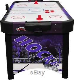 Playcraft Sport Shoot Out Plus Air Hockey Table Purple