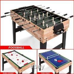Pool Table Ping Pong Balls Air Hockey Foosball Gaming Games Fun Activity New