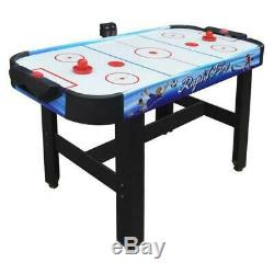 Rapid Fire 42 In. 3-In-1 Air Hockey Multi-Game Table