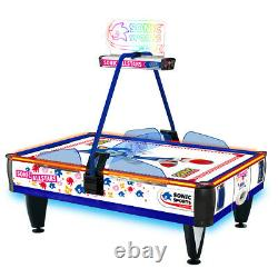 SEGA Sonic Sports Air Hockey Game Table 4 Player