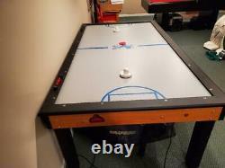 SHELTI DEFENSEMAN BLUELINE 7' Indoor Air Hockey Table 87L47W30 Excellent Cond