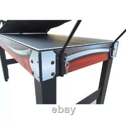 SPORTS GAME TABLE 3-In-1 Table Tennis Basketball Air Hockey Accessories Included