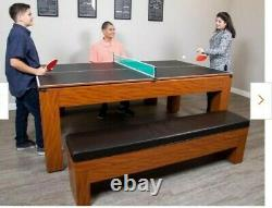 Sherwood 7ft. Air Hockey table and accessories- NO LEGS OR BENCHES