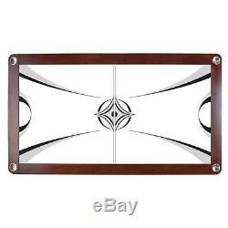Sleek Modern Design Monarch 85 in. L x 48 in. W 32 in. H Air Hockey Table