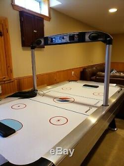 Sportcraft Turbo Air Hockey Table with Electronic Scoring