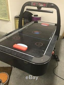 Sportcraft Used Atomizer Turbo Air Hockey Table with Accessories