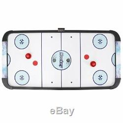 Sports 5' D Air Hockey Table with Electronic Scoreboard 2 Player Face Off