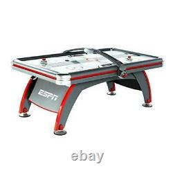 Sports Air Hockey Game Table Indoor Arcade 7 Foot (LED Overhead Scorer)