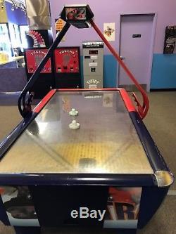 Stainless steel air hockey table