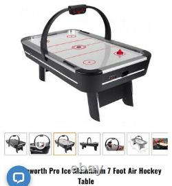 Strikeworth Pro Ice Aluminium 7 Foot Air Hockey Table New Boxed COLLECTION ONLY