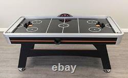 Trailblazer 7' AIR Hockey Table, Black/Orange