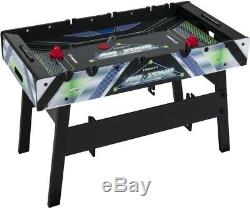 Triumph 2 In 1 Air Zone Air Hockey Foosball Combination Game Table With Quick
