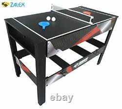 Triumph 4-in-1 Rotating Swivel Multigame Table Air Hockey, Billiards, Table