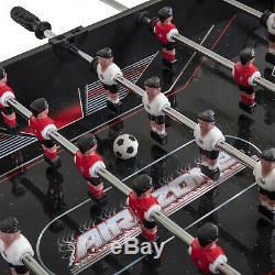 Triumph 54 5-in-1 Air Zone Swivel Multi-Game Table Billiards Air Hockey Foosball