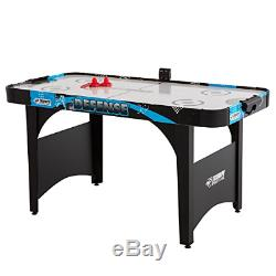 Triumph Defense 5' Air-Powered Hockey Table Includes 2 Strikers and 2 Red Pucks