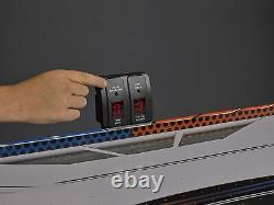 Triumph Fire n Ice LED Light-Up 54 Air Hockey Table Includes 2 LED Hockey Push