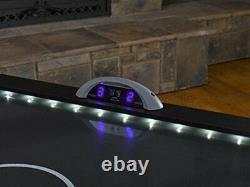 Triumph Lumen-X Lazer 6 Interactive Air Hockey Table Featuring All-Rail LED Lig