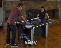 Triumph Lumen-X Lazer 6 Interactive Air Hockey Table Featuring All-Rail LED and