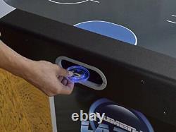 Triumph Lumen-X Lazer 6 Interactive Air Hockey Table with All-Rail LED Lighting