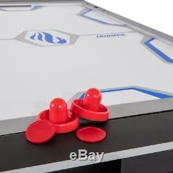 Triumph Sports 3-in-1 Multigame Swivel Table Billiards Tennis Air Hockey