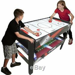 Triumph Sports 4-in-1 Vortex Table, Air Hockey, Pool/ Billiards, Table Tennis
